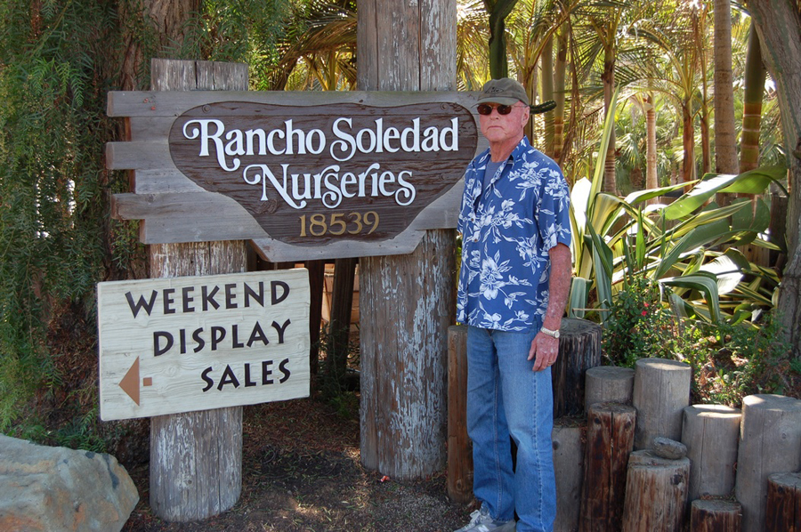 Jerry Hunter , Founder of Rancho Soledad Nurseries